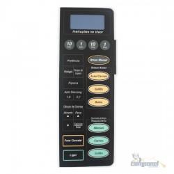 Membrana Microondas Panasonic NN7856/7956/7958 Reta Preta